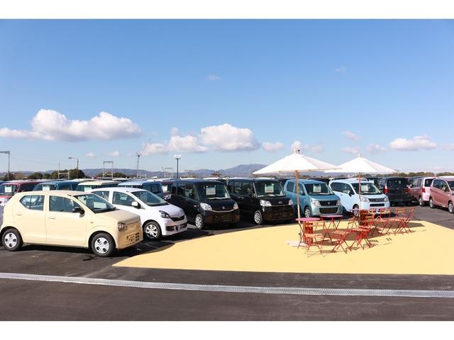 【奈良店】たくさんの軽自動車の中からお客様にピッタリの一台を見つけてください!