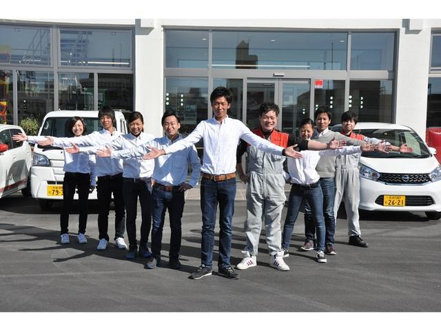 【奈良店】明るいスタッフばかりです!私たちと一緒にお車を選びましょう!