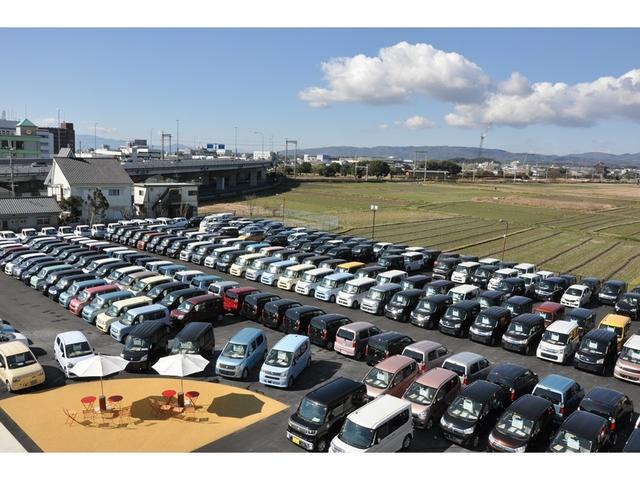 【奈良店】在庫400台!オールメーカーの届出済未使用車をズラリと展示中!