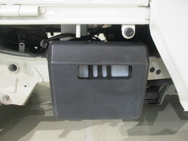 バッテリーカバーが付いていますので、バッテリー盗難されにくい。