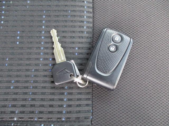 キーリモコンでドアの施錠ができますよ!!