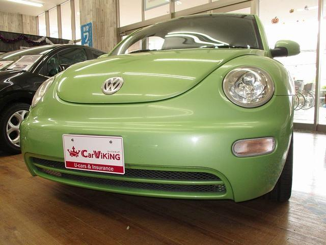 フォルクスワーゲン VW ニュービートル ストラーダHDDナビ 天張新品交換済 ワンオーナー ETC