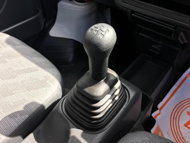 スズキ キャリイトラック 4WD 5MT エアコン