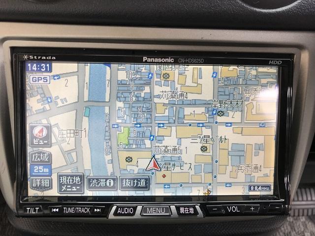 三菱 eKワゴン M HDDナビ ETC 電格ミラー キーフリー ワンオーナー