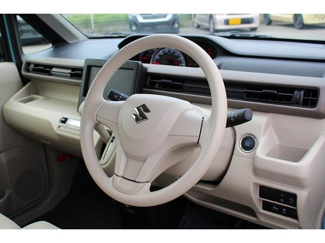 ハイブリッドFX 軽自動車 衝突被害軽減ブレーキ エアバッグ アンチロックブレーキシステム パワステ パワーウィンドウ オートエアコン 内装ベージュ(25枚目)