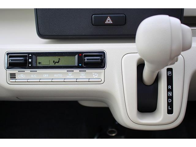 ハイブリッドFX 軽自動車 衝突被害軽減ブレーキ エアバッグ アンチロックブレーキシステム パワステ パワーウィンドウ オートエアコン 内装ベージュ(26枚目)