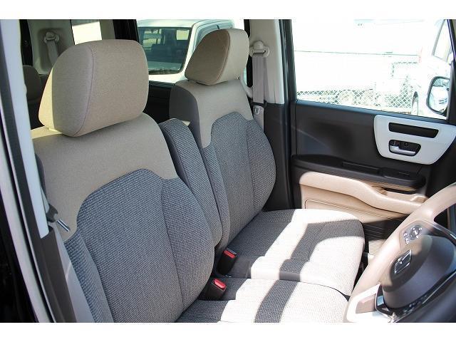 L 軽自動車 届出済未使用車 衝突被害軽減ブレーキ 両側スライドドア 片側パワースライドドア スマートキー プッシュスタート シートヒーター ベンチシート(13枚目)