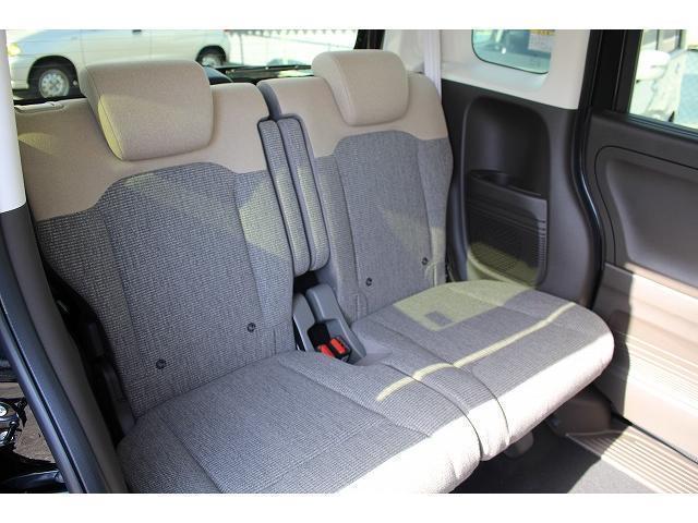 L 軽自動車 届出済未使用車 衝突被害軽減ブレーキ 両側スライドドア 片側パワースライドドア スマートキー プッシュスタート シートヒーター ベンチシート(14枚目)