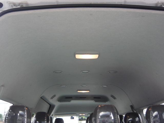 グランドキャビン 10人乗 純正SDナビ/フルセグ/バックモニター/前後ドラレコ/前後クリアランスソナー/オプションHIDヘッドライト/電動スライドドア/100Vコンセント(12枚目)