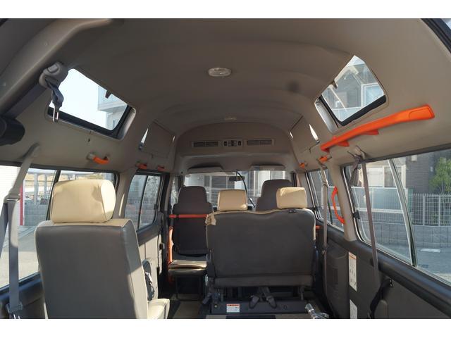 日産 キャラバンバス チェアキャブ 車移動車 車椅子2基