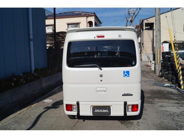 車いす移動車 分割式リヤシート付 レーダーブレーキサポート(10枚目)