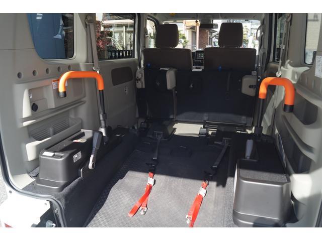 車いす移動車 分割式リヤシート付 レーダーブレーキサポート(13枚目)