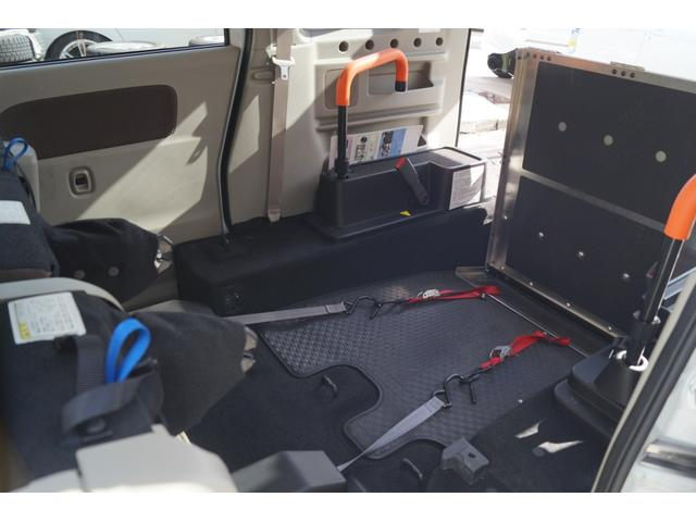 車いす移動車 分割式リヤシート付 レーダーブレーキサポート(14枚目)