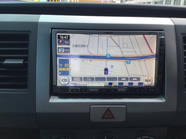 スズキ ワゴンR FX 社外HDDナビ 社外アルミ タイミングチェーン