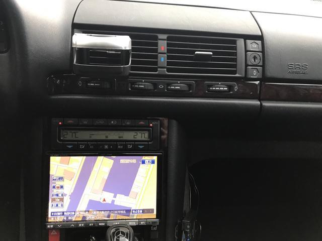 S500L アルパインナビ BRABUS20インチアルミ(18枚目)