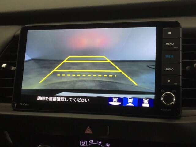 e:HEVホーム 純正Gathers 9インチナビ(VXU-205FTI) LEDヘッドライト Honda   CONNECT for Gathers ナビ装着用スペシャルパッケージ 当社デモカー ホンダセンシング(4枚目)