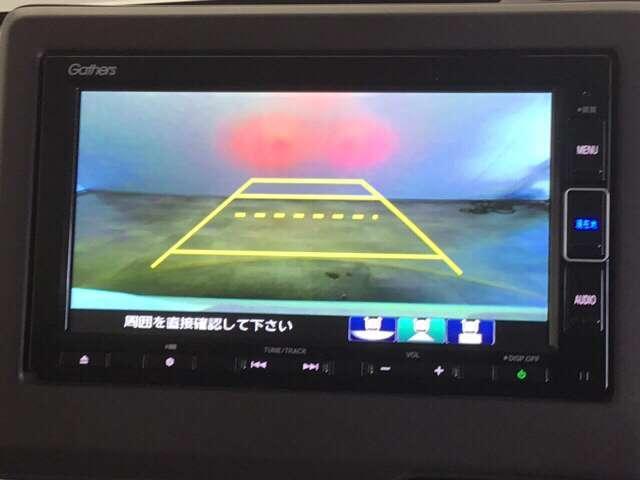 G・Lホンダセンシング 純正Gathers7インチナビ(VXM-204VFI) ナビ装着用スペシャルパッケージ  ETC車載器 運転席助手席シートヒーター リア左側パワースライドドア リアカメラ フルセグ 当社デモカー(4枚目)
