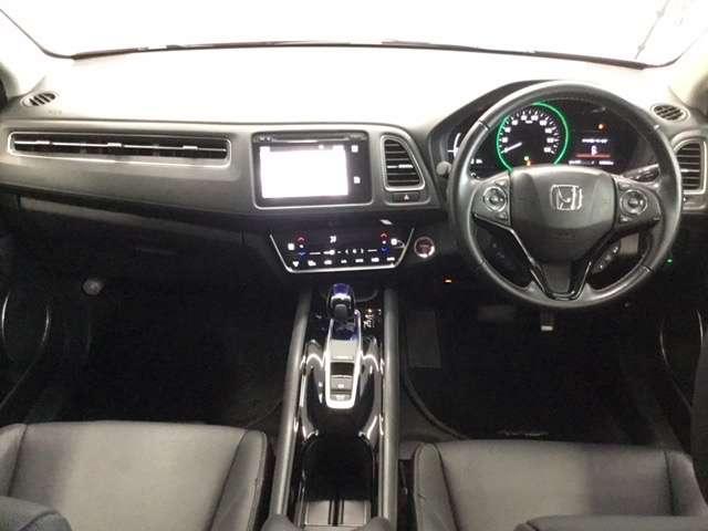 ハイブリッドZ・ホンダセンシング Hondaインターナビ リンクアップフリー 運転席助手席シートヒーター LEDヘッドライトフォグライト 本革シート 17インチAW ルーフレール 運転席8way助手席4wayパワーシート リヤカメラ(2枚目)