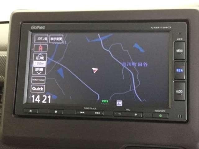 Gホンダセンシング 純正Gathers7インチナビ(VXM-184CI) ナビ装着用スペシャルパッケージ ETC車載器 LEDヘッドライト クルーズコントロール VSA リヤカメラ フルオートエアコンディショナー(3枚目)