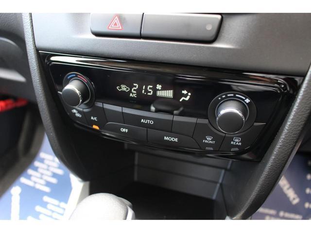 お好みの温度に設定すると快適な車内温度を保ってくれます!4WDはリヤヒーターダクトがあるので後部座席にも温風が届きます♪