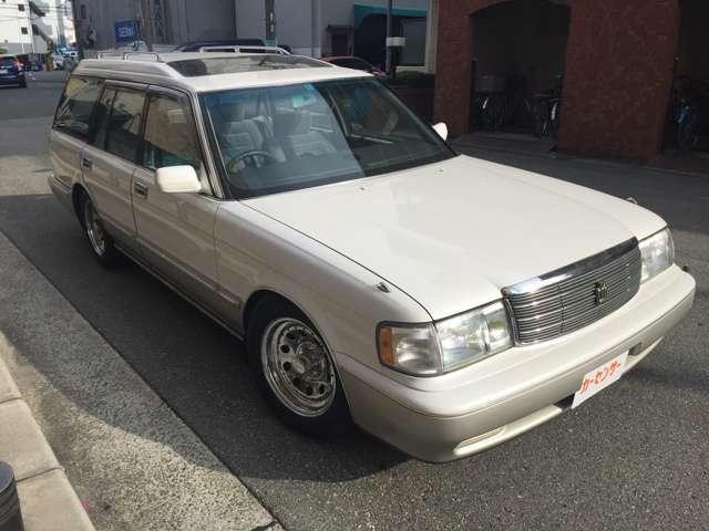 「トヨタ」「クラウンステーションワゴン」「ステーションワゴン」「大阪府」の中古車3