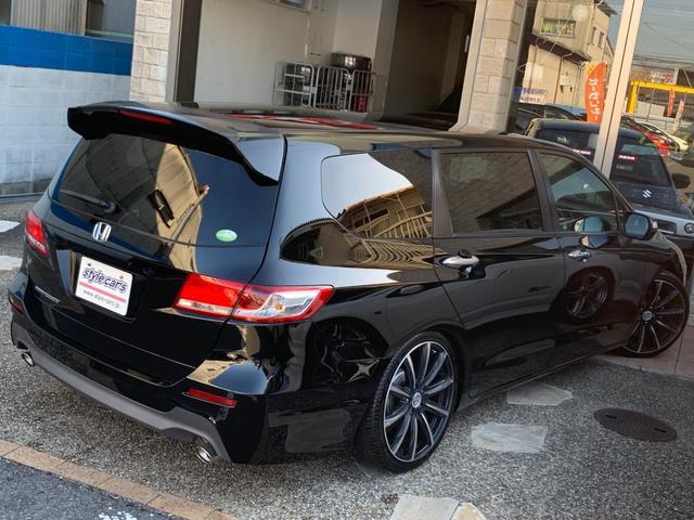 ホンダ オデッセイ Mファインスピリット ストラーダSDフルセグ地デ 新品車高調