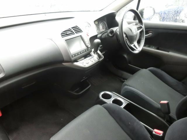ホンダ ストリーム RSZ特別仕様車 地デジHDDナビエディション19AW車高調