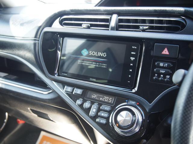 トヨタ アクア G G's ハーフレザー 新品SDナビ フルセグ 17AW
