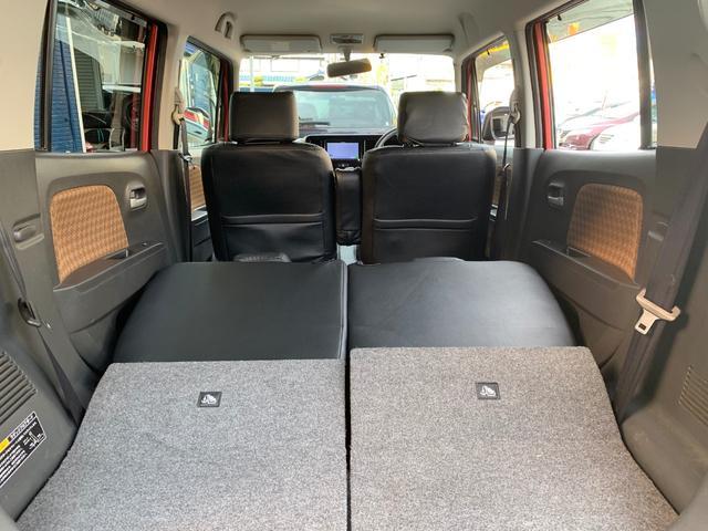 ☆セカンドシートを倒せば大きな荷物も搭載可能です!