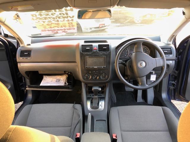 フォルクスワーゲン VW ゴルフヴァリアント TSI トレンドライン ローダウン 社外アルミ HDDナビ