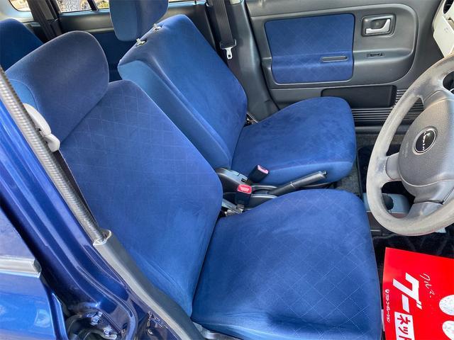 G 衝突安全ボディ 運転席助手席エアバッグ キーレスエントリー フルフラットシート CD再生可能 パワステ パワーウインドウ 車検整備付き 法定整備込(13枚目)