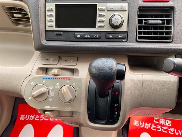 G 衝突安全ボディ 運転席助手席エアバッグ ABS キーレスエントリー バックカメラ CD再生可能 ベンチシート パワステ パワーウインドウ 4AT 車検整備付き 法定整備込(11枚目)
