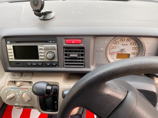 G 衝突安全ボディ 運転席助手席エアバッグ ABS キーレスエントリー バックカメラ CD再生可能 ベンチシート パワステ パワーウインドウ 4AT 車検整備付き 法定整備込(16枚目)
