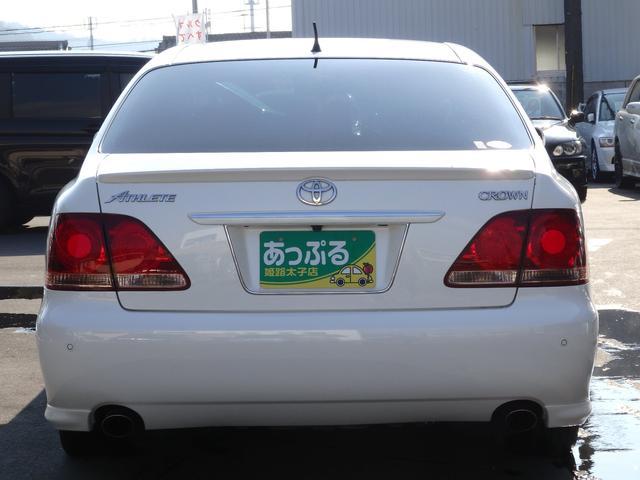 トヨタ クラウン アスリートプレミアムED HDDナビ 革シート サンルーフ