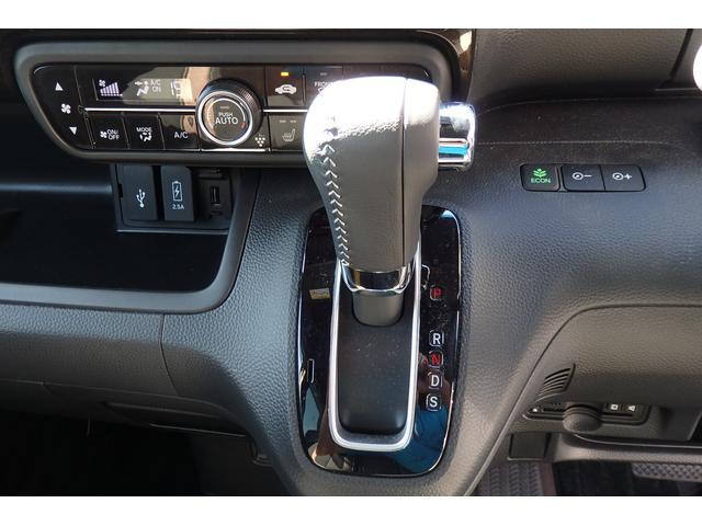 G・Lターボホンダセンシング 両側電動スライドドア 純正9インチSDナビ 衝突軽減ブレーキ 横滑り防止 レーン逸脱防止 アイドリングストップ プッシュスタート スマートキー サイド&カーテンエアバッグ USB端子(11枚目)
