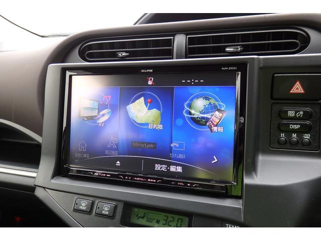 G 禁煙車 イクリプス9型ナビ フルセグ Bカメラ BT対応 USB SD録音 ETC DVD再生 ウインカーミラー オートライト 革巻きハンドル プッシュスタート スマートキー(10枚目)