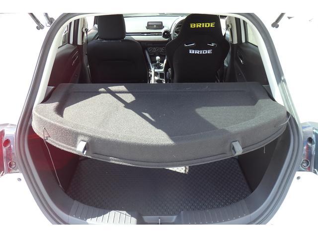 15MB 6MT ブリッドバケットシート 純正シートあり 車高調 社外マフラー エンケイ16AW ウインカーミラー LEDライト HIDフォグ ETC USB対応(38枚目)