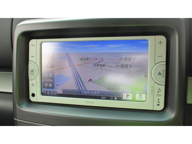 カスタム G 純正SDナビ CD/SD/BT/ワンセグ Bカメラ ETC スマートキー Aストップ ウィンカー付電格ミラー オートA/C HIDオートライト フォグ 革巻きハンドル シガーソケット 純正14AW(10枚目)