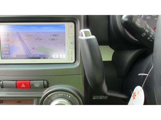 カスタム G 純正SDナビ CD/SD/BT/ワンセグ Bカメラ ETC スマートキー Aストップ ウィンカー付電格ミラー オートA/C HIDオートライト フォグ 革巻きハンドル シガーソケット 純正14AW(11枚目)