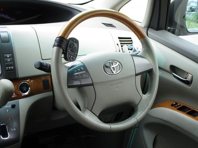 トヨタ エスティマ アエラス 新品タイヤ 車高調 リアモニター エンジンOH済