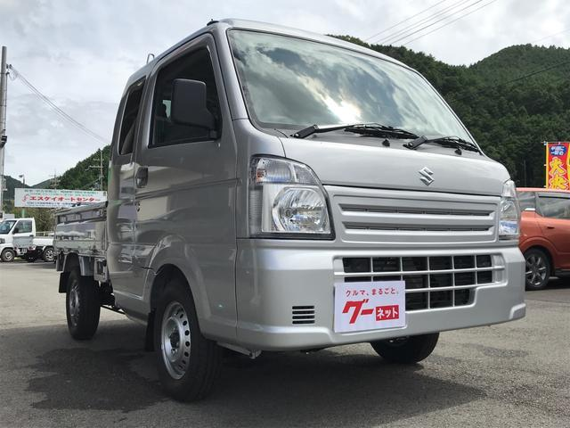 L 4WD 5速MT 車検令和2年5月 エアコン 軽トラック(5枚目)