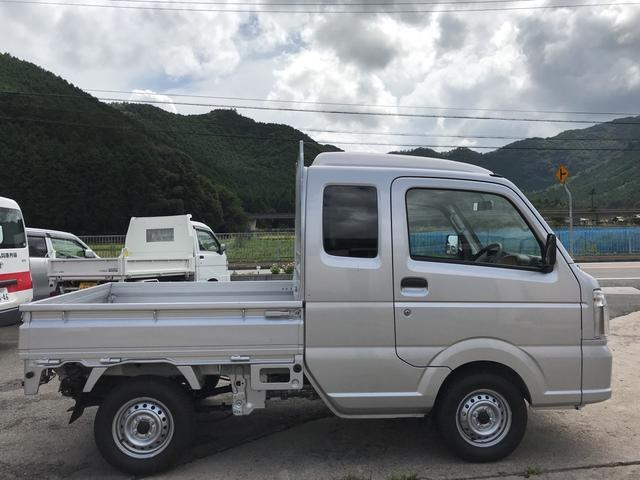 L 4WD 5速MT 車検令和2年5月 エアコン 軽トラック(10枚目)