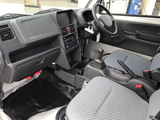 L 4WD 5速MT 車検令和2年5月 エアコン 軽トラック(19枚目)