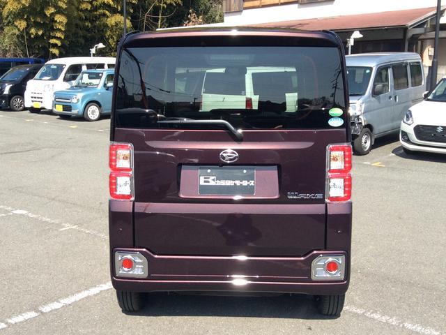 ダイハツ ウェイク GターボSAIII 軽自動車 キーフリー 両側電動スライド