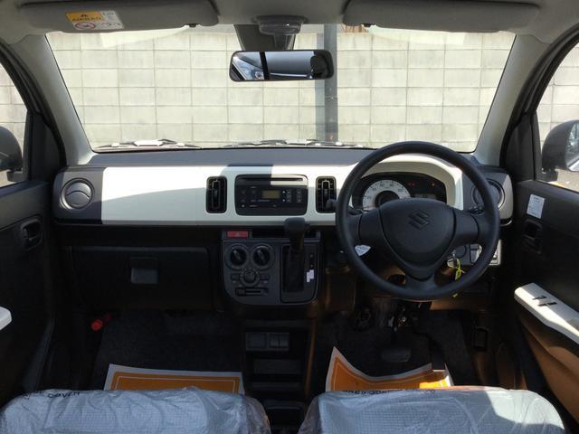 スズキ アルト F 軽自動車・キーレス・MTモード