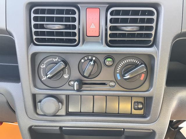 気温に合わせて直感的に操作することで、車内をいつでも快適に保てます。