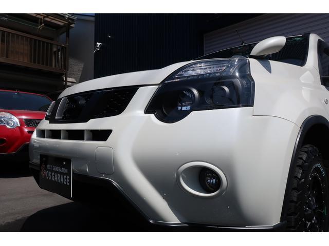 日産 エクストレイル 20Xttリフトアップカスタム新品アルミマットフラップ