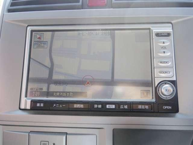 ホンダ ゼスト W 純正HDDナビ・ETC