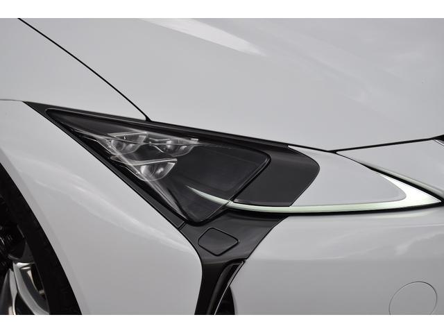 LC500 Lパッケージ TRDフルエアロ・三眼ヘッドライト・ETC2.0・パドルシフト・トランクスポイラー・メーカーナビ(5枚目)