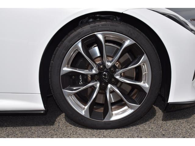LC500 Lパッケージ TRDフルエアロ・三眼ヘッドライト・ETC2.0・パドルシフト・トランクスポイラー・メーカーナビ(27枚目)